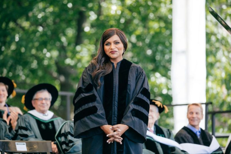Mindy Kaling shared her secret to success during a speech at Dartmouth, and every young person should hear this