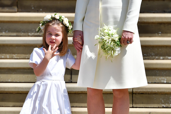 Princess Charlotte rifling through Kate Middleton's purse is possibly the most relatable thing we've ever seen
