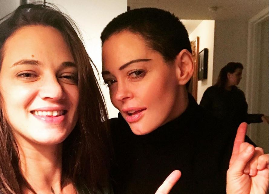 Rose McGowan defended Asia Argento after fans blamed her for Anthony Bourdain's death