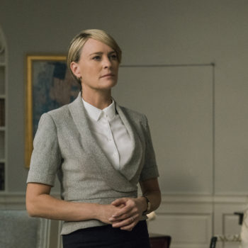 The first look at Robin Wright as the president on <em>House of Cards</em> is 100% Kevin Spacey-free — and we don't miss him