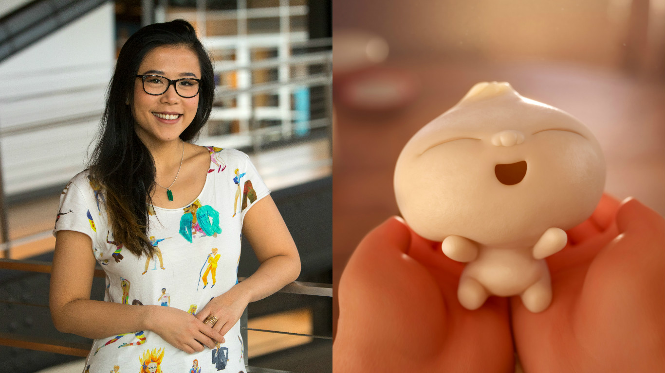 <em>Bao's</em> Domee Shi went from Pixar intern to their *first* female director in only seven years