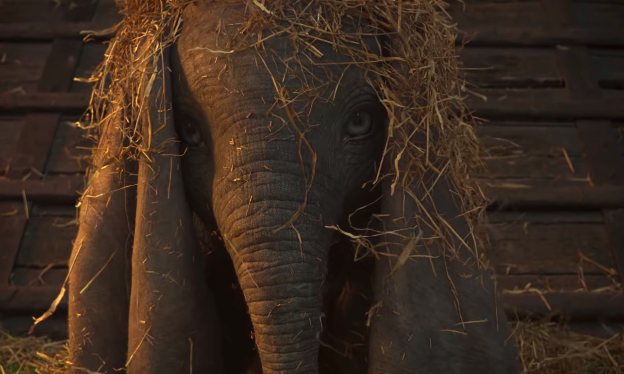 The first teaser for Tim Burton's <em>Dumbo</em> is here — and this baby elephant is going to make you cry