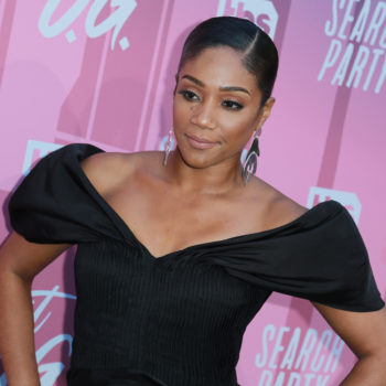 """Tiffany Haddish shared her experience with Roseanne Barr, saying, """"[She's] been racist, why'd you all give her a TV show?"""""""