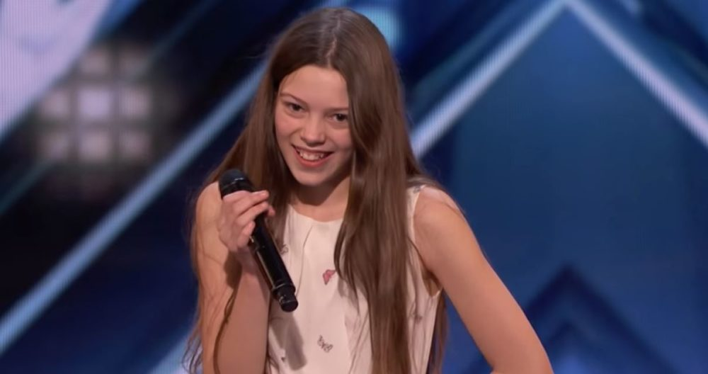 This 13-year-old overcame her social anxiety and blew the judges away with this epic <em>America's Got Talent</em> performance