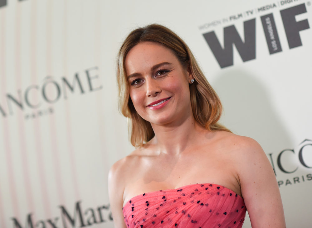 "Brie Larson doesn't want to hear what ""40-year-old white dudes"" have to say about movies for women of color, and Brie for President"