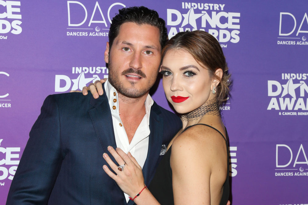 <em>Dancing with the Stars</em>' Val Chmerkovskiy and Jenna Johnson are engaged, and the pics are everything
