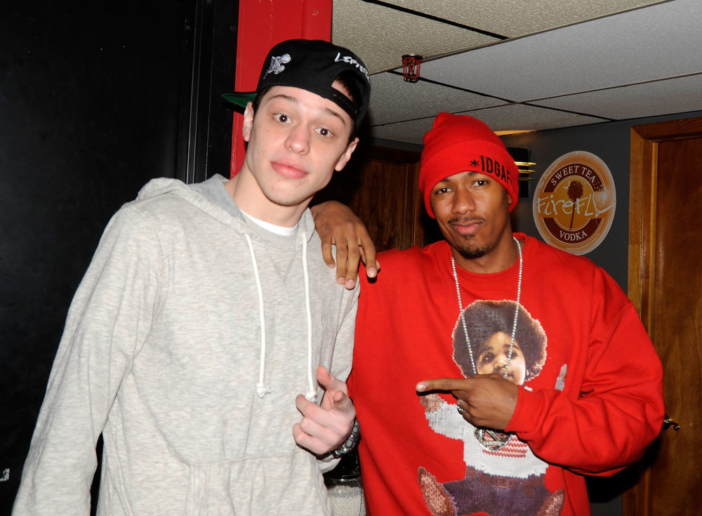 Nick Cannon said Pete Davidson called him before proposing to Ariana Grande — so this is really happening, huh?