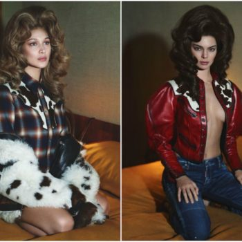 Bella Hadid and Kendall Jenner are channeling old-school Dolly Parton in this new campaign