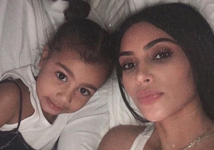 Kim Kardashian just low-key roasted North West for her 5th birthday, and this is actual #momgoals