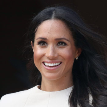 People are criticizing Meghan Markle because her hair blew in the wind — seriously