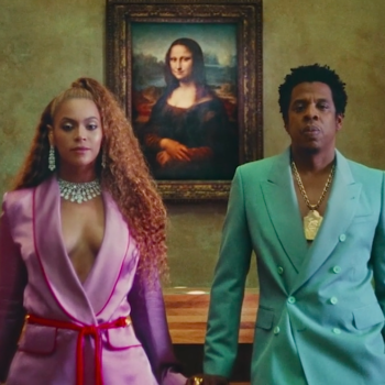 """The best fashion moments in Beyoncé and Jay-Z's video for """"Apes**t"""""""