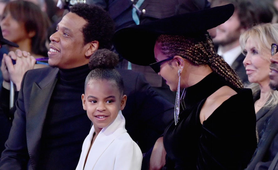 Blue Ivy teaching her friend how to properly rock out at a Jay-Z concert is exactly what we needed today