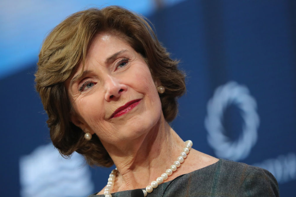 Former first lady Laura Bush wrote an op-ed blasting the Trump administration's family-separation policy