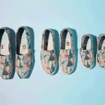 Forget the glass slipper — Toms teamed up with Disney on the dreamiest Cinderella collection