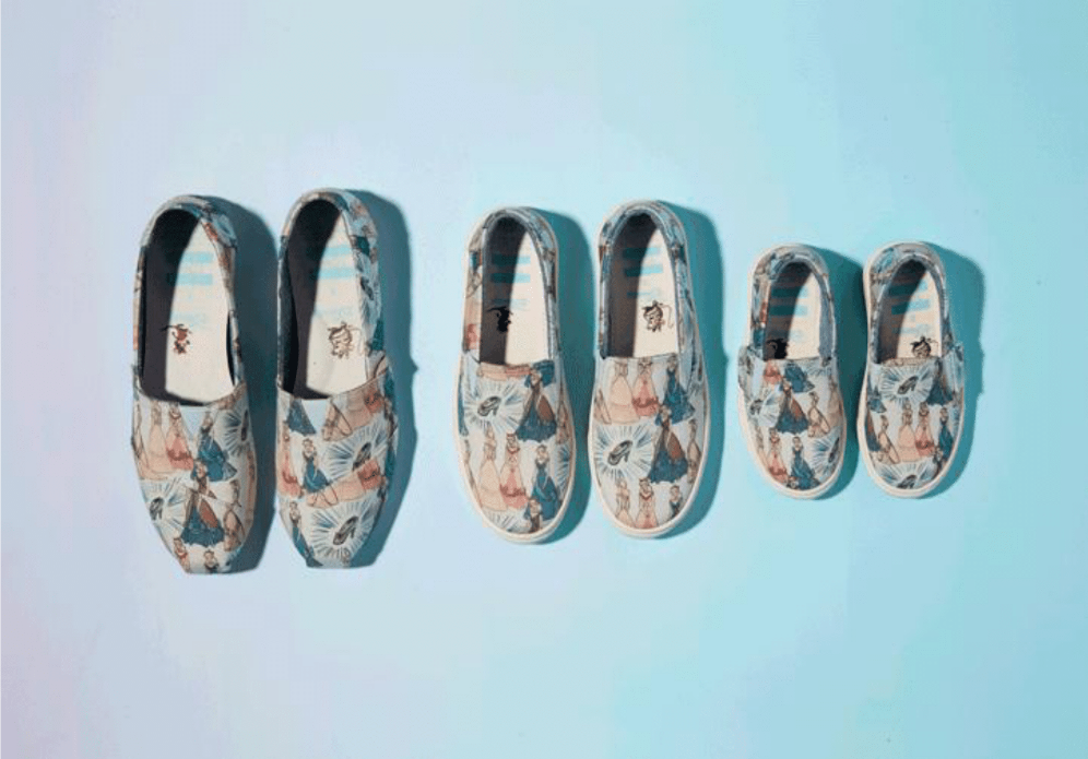 562b404e3d56 Toms And Disney Launched A Cinderella Shoe Collection - HelloGiggles