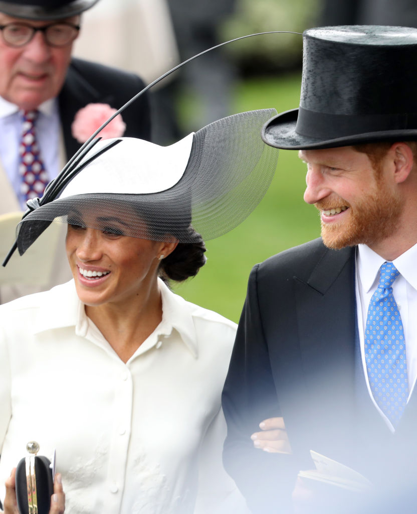 Meghan Markle And Prince Harry Attended The Royal Ascot A