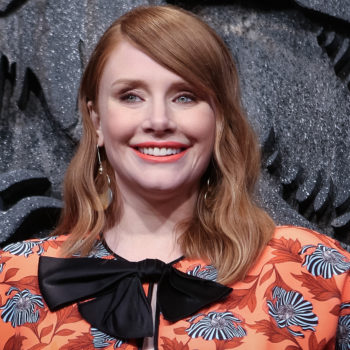 Bryce Dallas Howard semi-risked her life to do this interview about <em>Jurassic World</em> with me