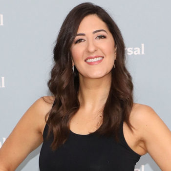 D'arcy Carden tells us what beauty product Kristen Bell gave her and the period foods she craves