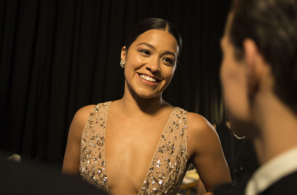 Gina Rodriguez used <em>Jane the Virgin's</em> Emmy money to send an undocumented student to college, because she's our hero