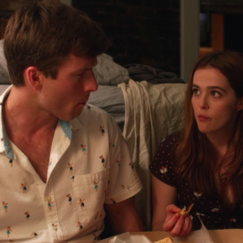 Zoey Deutch ate four full pizzas filming that scene in <em>Set It Up</em> – and then proceeded to throw up