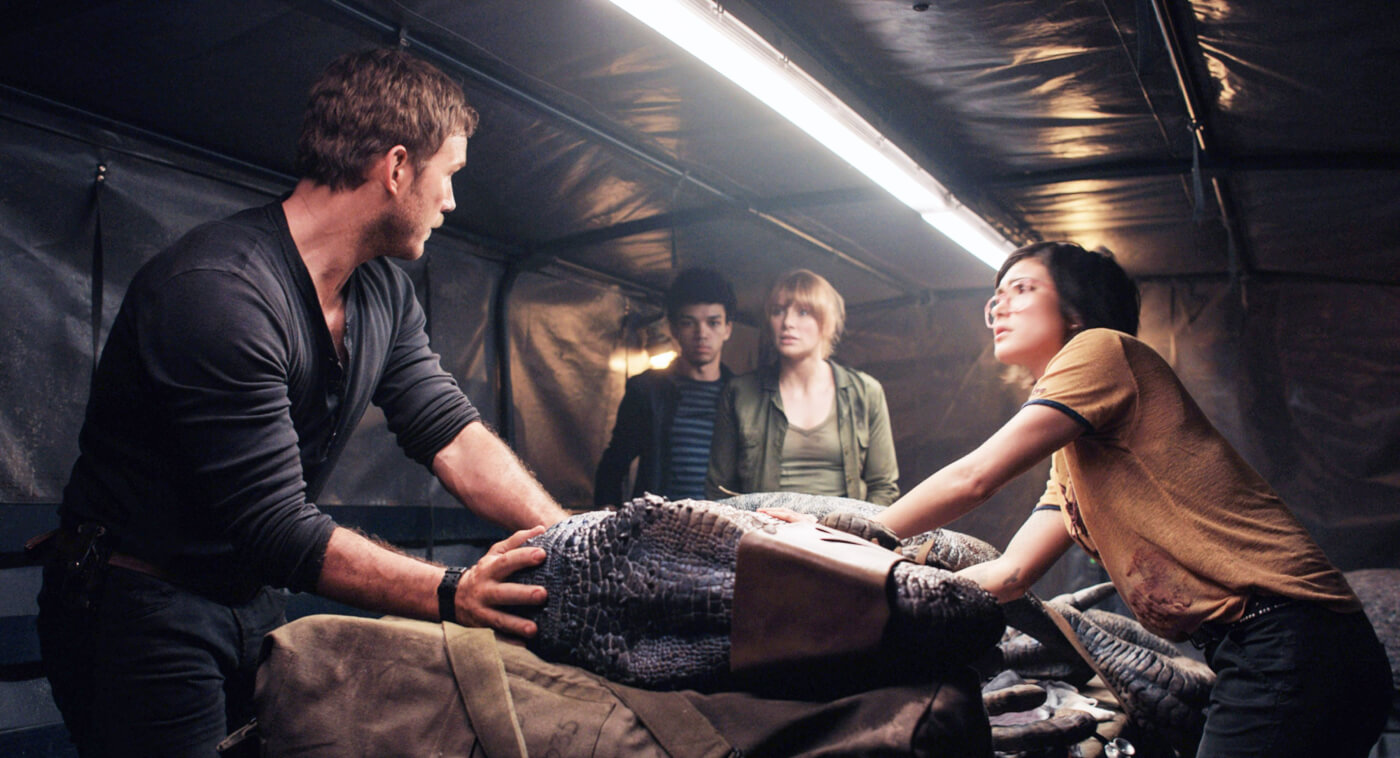 Daniella Pineda is pretty psyched to be the first ever paleo-veterinarian ever in <em>Jurassic World: Fallen Kingdom</em>