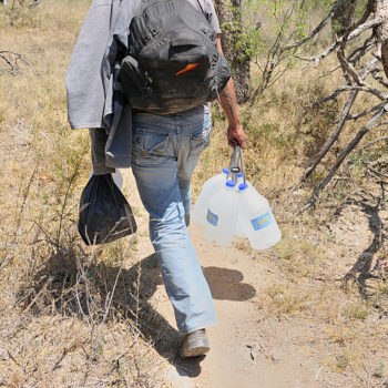 These teens are leaving water in the desert for immigrants attempting to cross the border