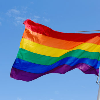 Each stripe of the rainbow flag has a coded meaning — here's what they are