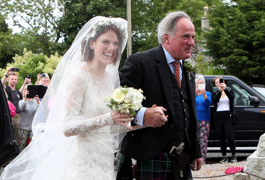 See Pictures Of Kit Harington And Rose Leslie's Wedding