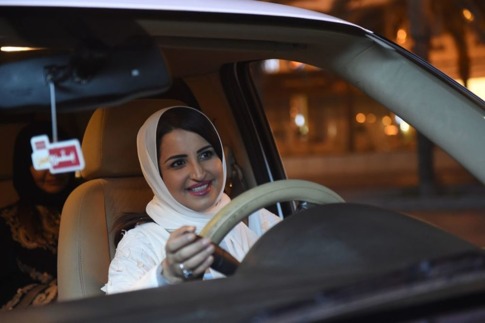 Women in Saudi Arabia can finally drive, and the tweets and pics are everything