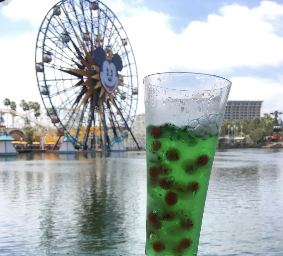 Disneyland now has a whirling, fizzy drink that was made for Instagram