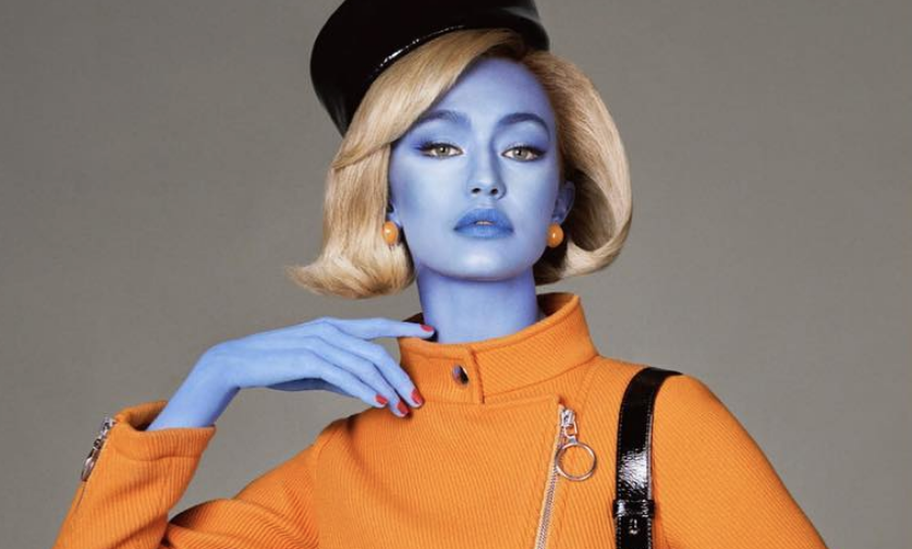 "Designer Jeremy Scott turned Gigi Hadid into an ""illegal alien"" for his latest campaign, and people are pissed"