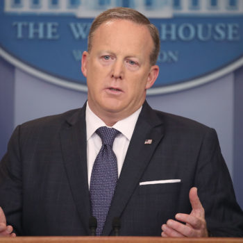 There's a Sean Spicer talk show in the works, and thanks but no thanks