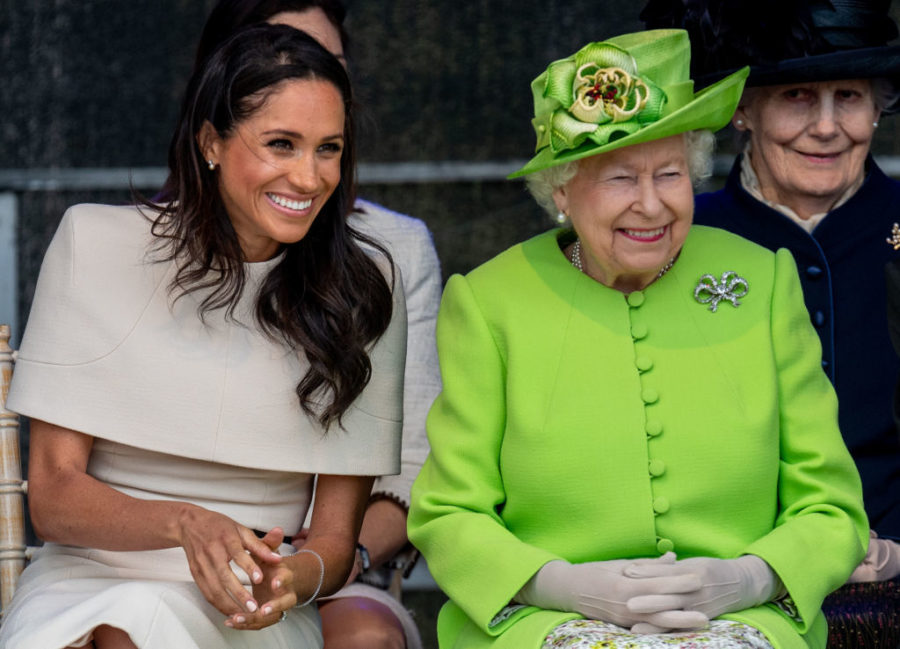 """Meghan Markle is apparently winning over Queen Elizabeth with her """"vim and vigor"""""""