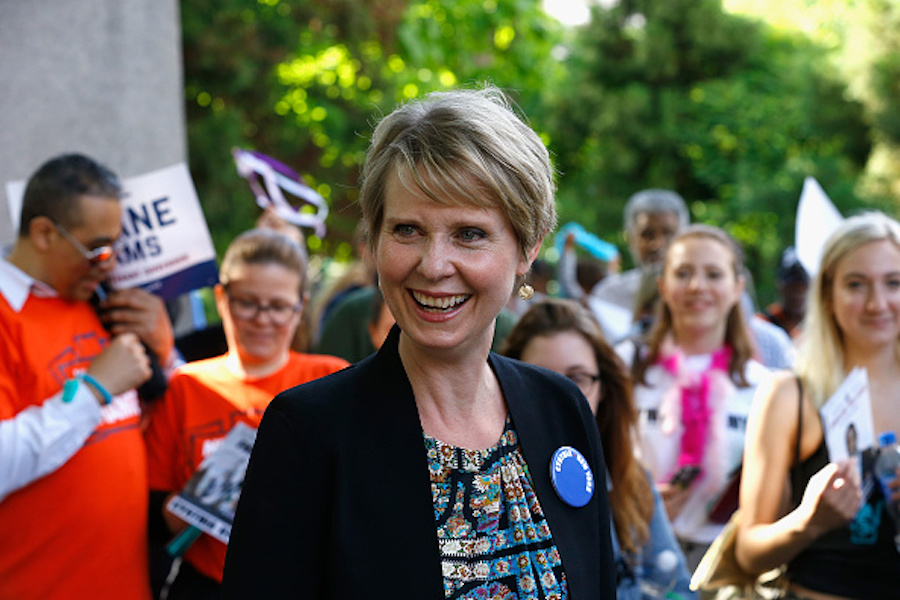 Opinion: Cynthia Nixon should never stop running for governor