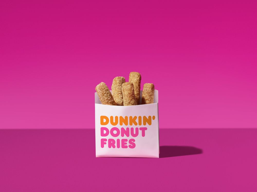 "Dunkin' Donuts is rolling out ""donut fries"" nationwide, and they sound a lot like another dessert we love"