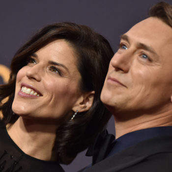 Neve Campbell and partner JJ Feild adopted a baby boy, shared sweetest pic