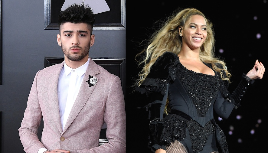 Zayn Malik teased music from his upcoming album, and there's officially a Beyoncé cover!