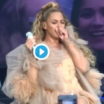 Beyoncé performed while sick, still absolutely crushed it