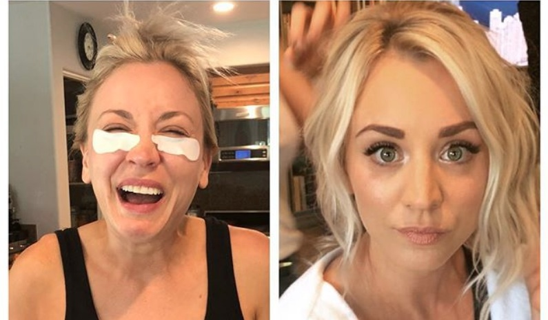 How Kaley Cuoco achieved her fresh-faced wedding day makeup