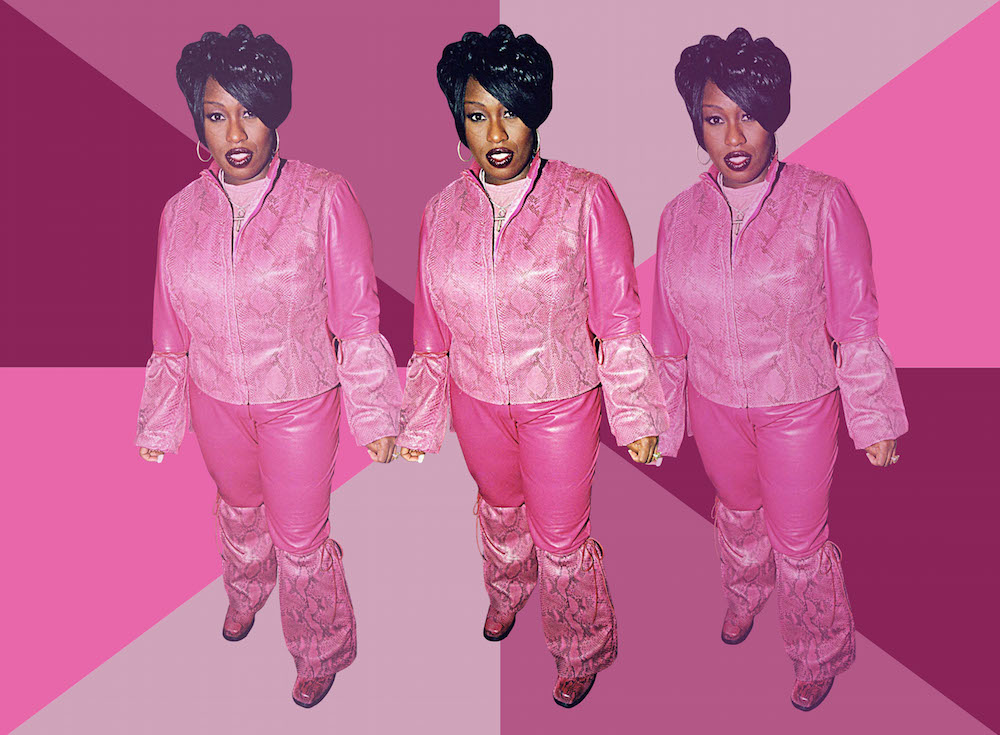 An ode to legendary hip-hop queen Missy Elliott's beauty and style