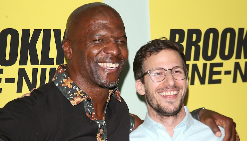 Andy Samberg, Chelsea Peretti, and so many <em>Brooklyn Nine-Niners</em> are defending Terry Crews from ignorant trolls