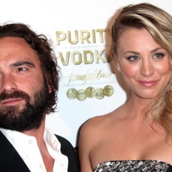 "<em>Big Bang's</em> Johnny Galecki posted a message to ""fake wife"" Kaley Cuoco after her wedding"