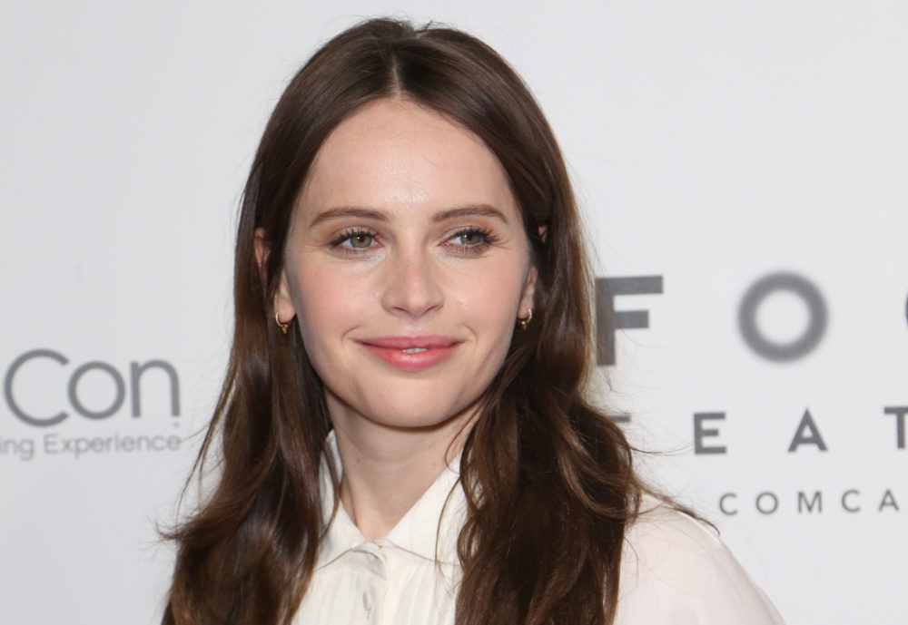 Felicity Jones got married in a secret ceremony over the weekend