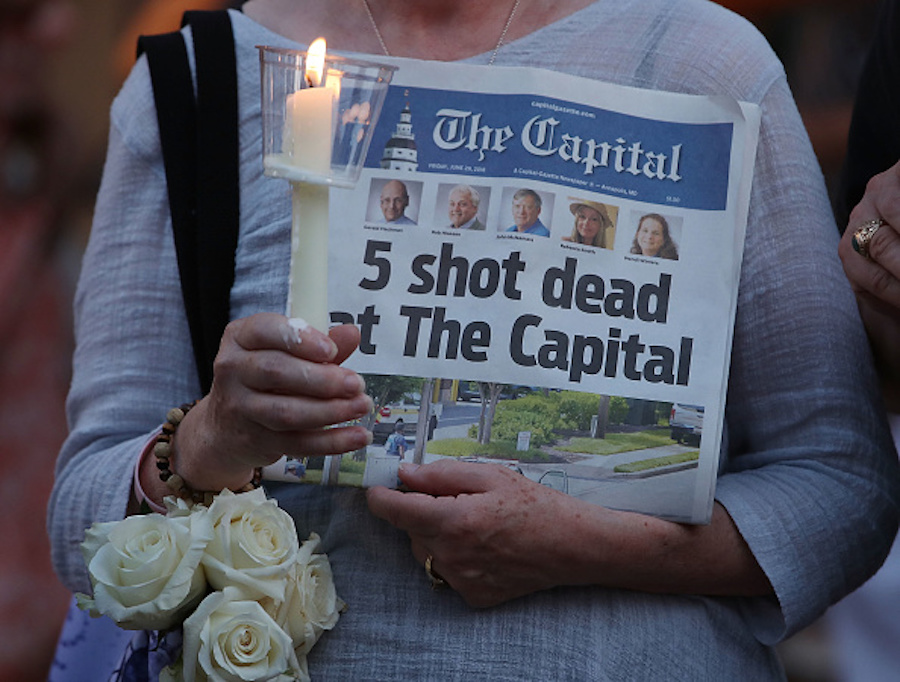 Death threats against journalists have been normalized, and reactions to the <em>Capital Gazette</em> shooting prove it