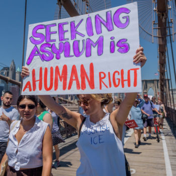 A federal judge ruled that the Trump administration's detention of asylum seekers must stop