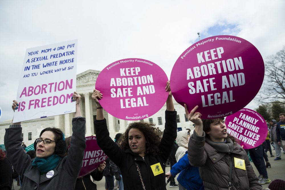 A new poll shows that most Americans still support the abortion rights protected by Roe v. Wade, so Trump, please listen