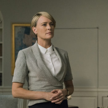 Netflix released a badass Independence Day teaser featuring Claire Underwood for <em>House of Cards'</em> final season