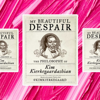 <em>My Beautiful Despair: The Philosophy of Kim Kierkegaardashian</em> blends the existential musings of philosopher Søren Kierkegaard with Kim Kardashian