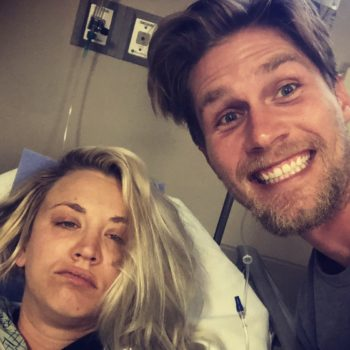 "Kaley Cuoco spent her ""honeymoon"" in the hospital, and we hope she's okay"