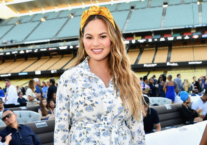 Chrissy Teigen clapped back so hard after Donald Trump mocked the #MeToo movement